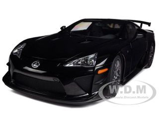 Lexus LFA Nurburgring Package Black 1/18 Diecast Car Model Autoart 78838