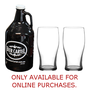 Beer Cartel Growler Gift Pack