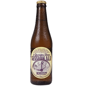 Newstead 3 Quarter Time Session Ale