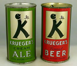 Krueger's Cream Ale and Krueger's Finest Beer