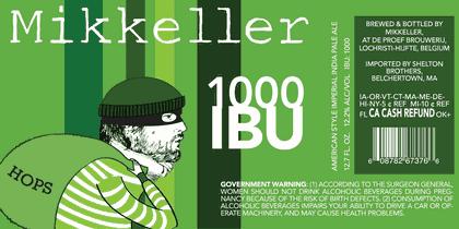 Mikkeller 1000 IBU