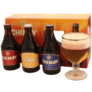 Chimay Belgium Trilogy Beer Pack
