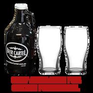 Beer Cartel Growler Gift Pack