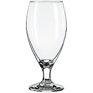 Libbey Tear Drop Beer Glass
