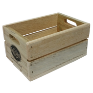 Wooden Beer Six Pack Crate
