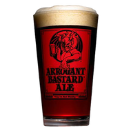 Stone Arrogant Bastard Pint Glass
