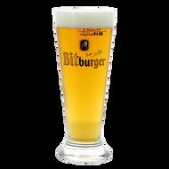 Bitburger Pilsner Beer Glass