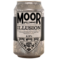 Moor Brewing Company Illusion Black IPA