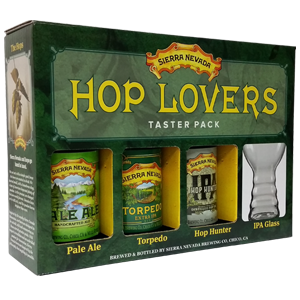 Sierra Nevada Hop Lovers Beer Gift Pack