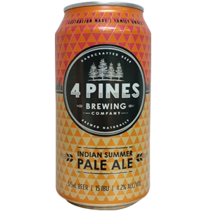4 Pines Indian Summer Pale Ale
