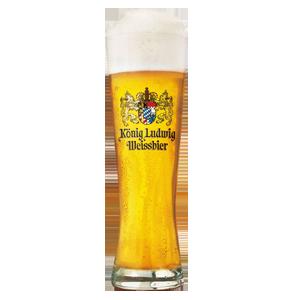 König Ludwig Weissbier Glass