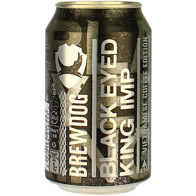 BrewDog Black Eyed King Imp Vietnamese Coffee Edition Can