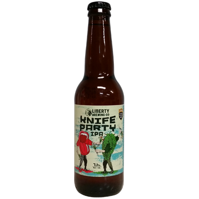 Liberty Knife Party IPA 330ml
