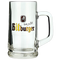 Bitburger 500ml Glass Beer Mug