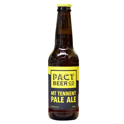 Pact Beer Co Mount Tennent Pale Ale