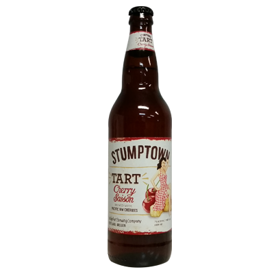 BridgePort Stumptown Tart Cherry Saison