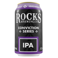 Rocks Conviction Series IPA Can