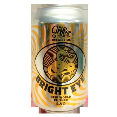 The Grifter Bright Eye New World Pilsner
