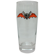 Stone Halloween Pint Glass