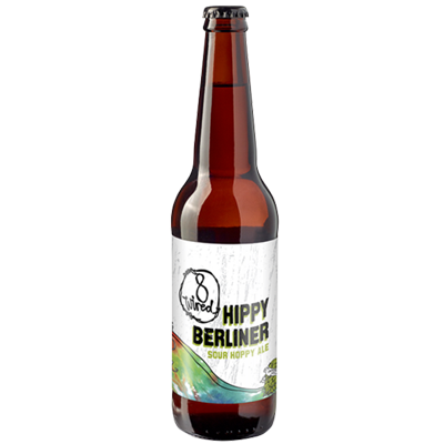8 Wired Hippy Berliner 330ml