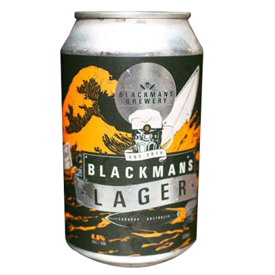 Blackman's Unfiltered Lager