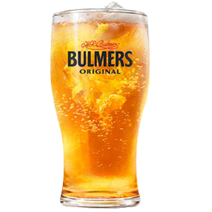 Bulmers Pint Glass