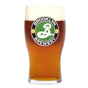 Brooklyn Brewery Schooner Style Pint Glass