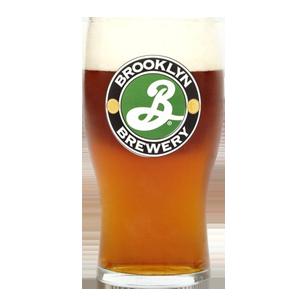 Brooklyn Brewery Schooner Style Pint Glass