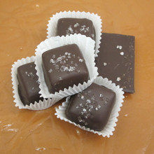 Chocolate Covered Vanilla Caramels - Dark Chocolate