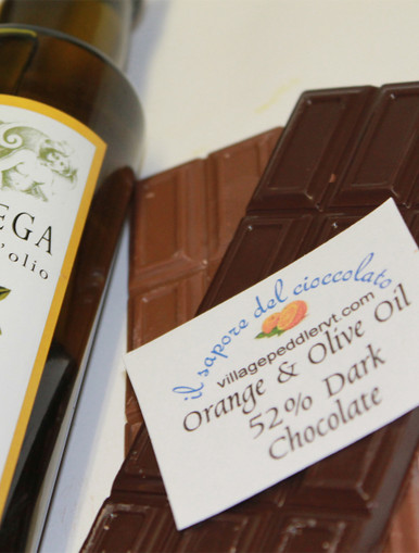 Olive Oil Bars - Orange - Dark Chocolate