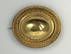 Antique English 15 Karat Gold Brooch
