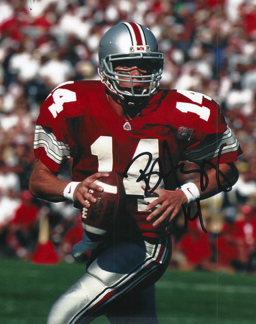 Bobby Hoying OSU 8-3 8x10 Signed Photo