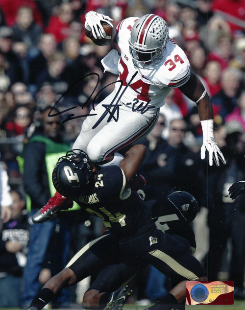 Carlos Hyde OSU 8-4 8x10 Signed Photo