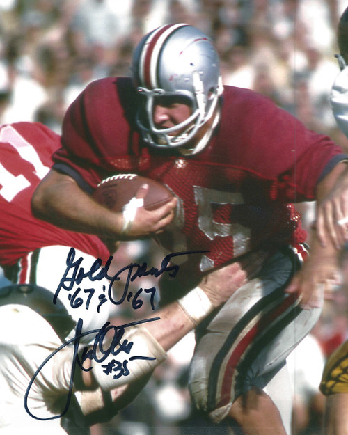 Jim Otis OSU 8-1 8x10 Signed Photo