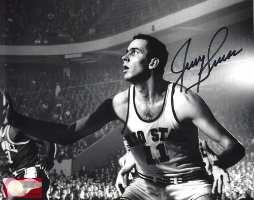 Jerry Lucas OSU 8-2 Signed 8x10 Photo