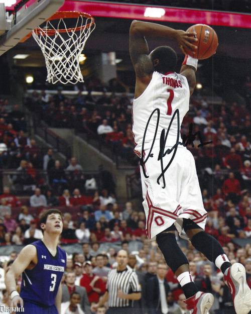 Deshaun Thomas OSU 8-1 Signed 8x10 Photo