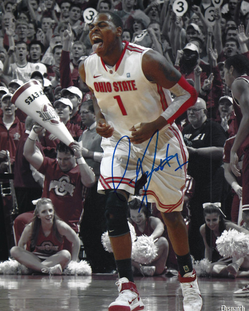 Deshaun Thomas OSU8-4 Signed 8x10 Photo