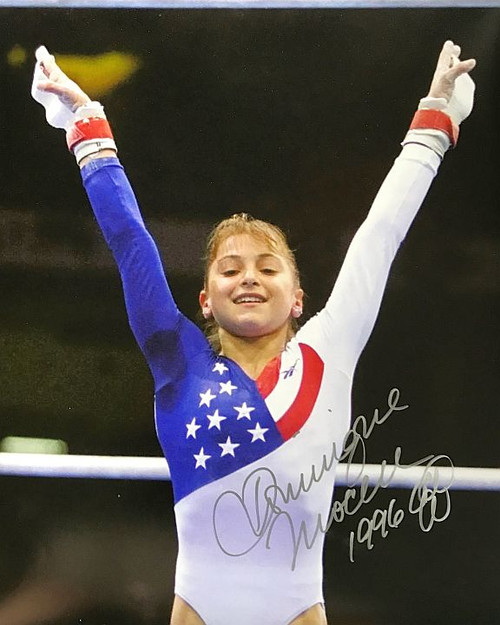 Dominique Moceanu Olympics 16-1 Signed 16x20 Photo