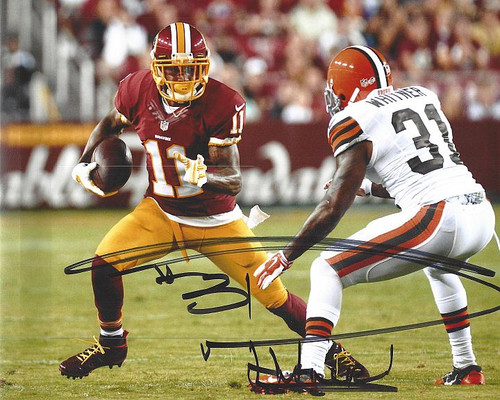 Donte Whitner Browns 8-1 Signed 8x10 Photo