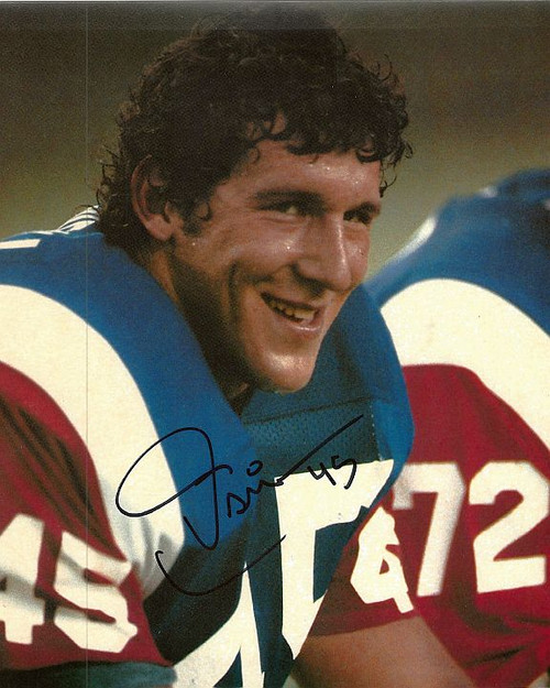 Tom Cousineau Montreal 8-1 Signed 8x10 Photo