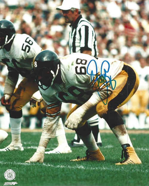 LC Greenwood Steelers 8-2 Signed 8x10 Photo