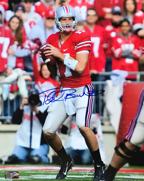 Todd Beockman OSU 16-5 Signed 16x20 Photo