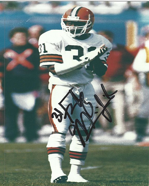Frank Minnifield Browns 8 4 Signed 8x10 Photo