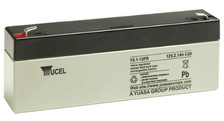 YUCEL2.1-12    Yuasa 2.1 AH 12V Battery