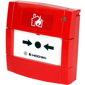 HCP-E-SCI  | Hochiki Addressable Call Point With Short Circuit Isolator (Red)