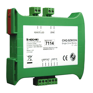 CHQ-SZM/DIN | Hochiki Addressable Din Rail Mounted Single Zone Monitor