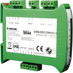 CHQ-DSC/DIN | Hochiki Addressable Din Rail Mounted Dual Sounder Controller