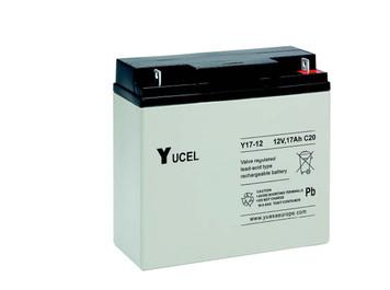 YUCEL17-12     Yuasa 17AH 12V Battery