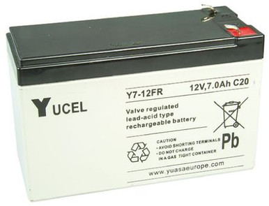 YUCEL7-12 | Yuasa 7 AH 12V Battery
