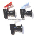 Water Cooler Faucet Assembly Black Shaft